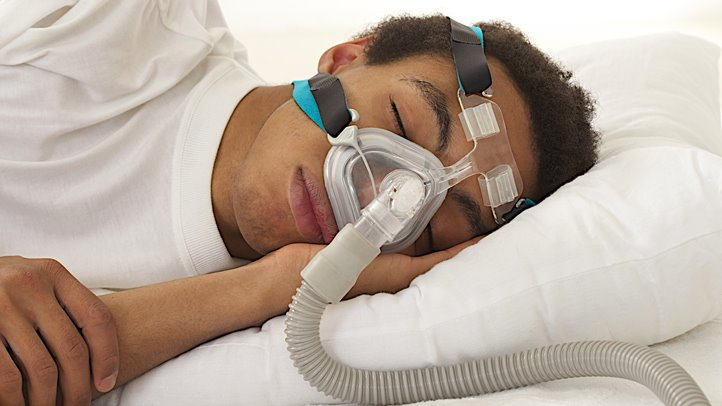 sleep apnea and the use of a CPAP machine.